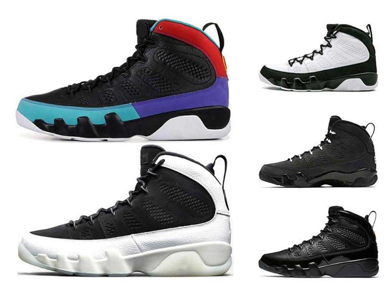 Hacer 2019 soñarlo Se 9s 9 zapatos de baloncesto del Mens UNC LA antracita El Espíritu Bred OG espacio atasco de atletismo Deportes zapatillas 7-13