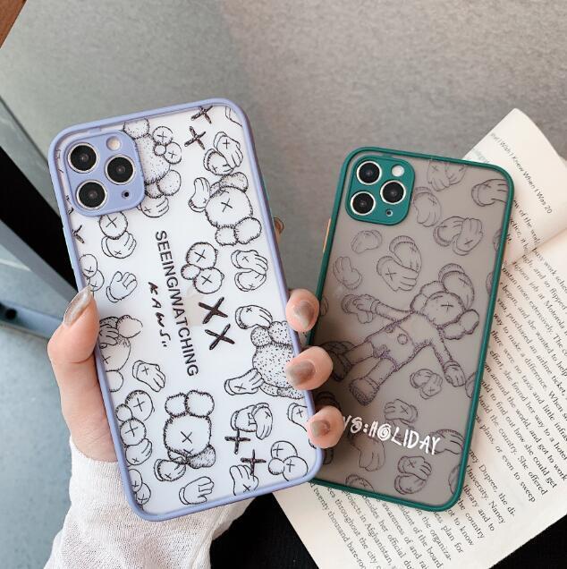 Neue Art und Weise Spiegel Markendesign-Handyfall für iphone 11 11 pro Max 7 7plus 8 8plus 6 6S 6Plus X Xs max Xr TPU + PC Abdeckung A12