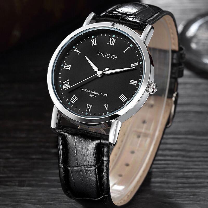 Freizeit Geschäftsmann Stahlband Uhr leuchtende wasserdichte einfache Quarzuhr aus grenzüberschreitenden exklusiv für die Verarbeitung und Anpassung