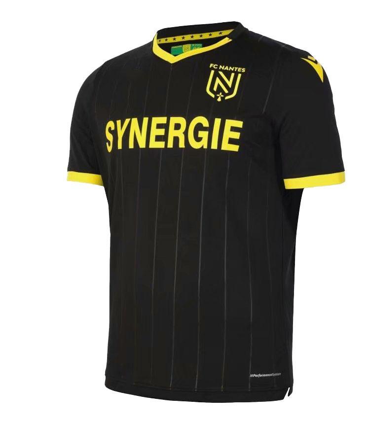 20 21FC Nantes Fußball-Trikot zu Hause weg maillot de foot 2020 2021 SIMON Louza A TOURE BLAS COCO COULIBALY erwachsene Männer KIDS Fußballhemden 11