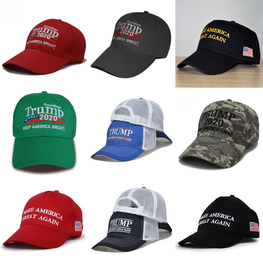 Trump 2020 Hats Donald Trump Caps Make America Great Again Baseballmütze US-Präsident gewählt Außen Sommer-Strand-Hüte SportsSunHat # 898