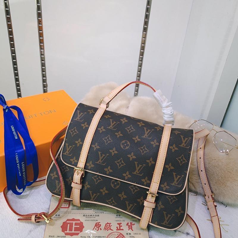 Mens Bag Zaini donne di alta qualità di lusso classica di Crossbody Borse signora Leather Shoulder Bag Uomini Donne Messenger Borse Zaino Drop Ship
