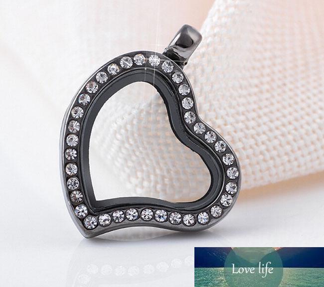 Neue Schwimm Medaillon Anhänger kleines Herz Peach-Anhänger für Halsketten / Armbänder Zubehör Vier verschiedene Farben geben Verschiffen
