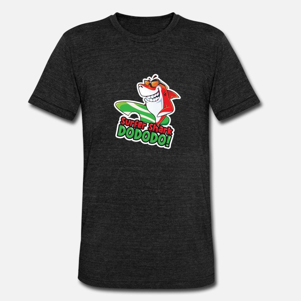 Sörfçü köpekbalığı Sörf Köpekbalığı t gömlek erkekler% 100 pamuklu S-3XL Kawaii Kırışıklık Karşıtı moda Bahar Resimleri gömlek Tasarımları