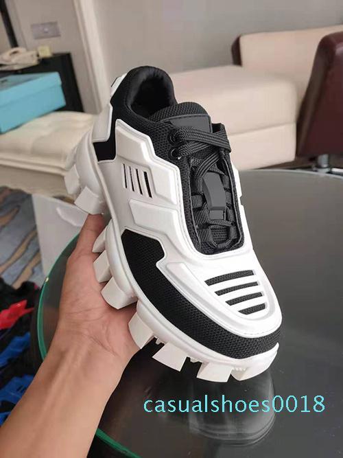 Mens Designer Shoes Cloudbust Thunder 50 al largo di lusso scarpe da ginnastica suola in gomma bianca donne di colore giallo casuale formatori esterni formato 35-46 C18