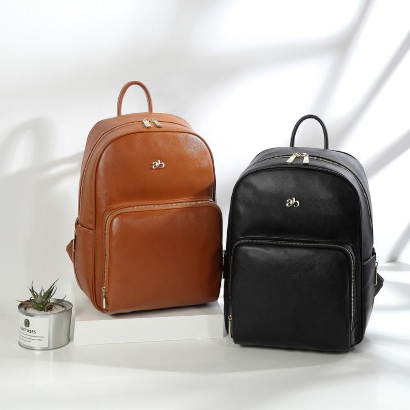 Sac sac convertible sacs à dos Voyage fourre-tout bébé PU Cuir cuir sac à dos de maquette de maman Couches étanches à l'étanche PJGPA Couche Nappy CFRLRR