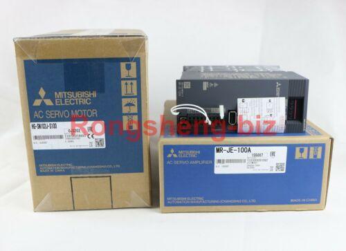 1PC Brand NEW IN BOX Mitsubishi HG-SN102J-S100+MR-JE-100A #WM06