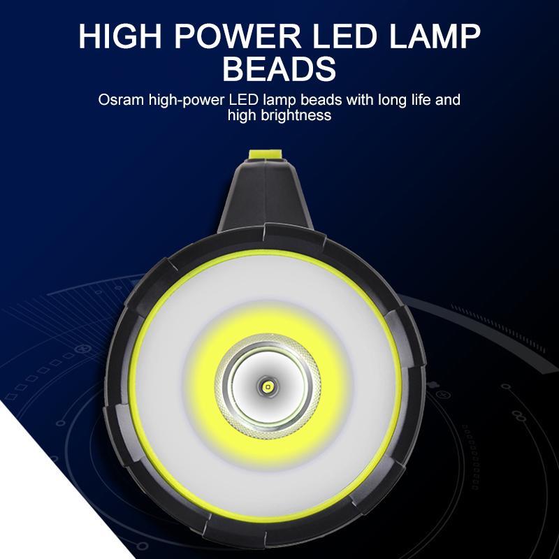 Bewegliche Scheinwerfer-Arbeits-Licht-Taschenlampen-COB-LED Arbeitsscheinwerfer Wiederaufladbare Magnetic Fackel Auto Inspektion Lampe Portable Lampen