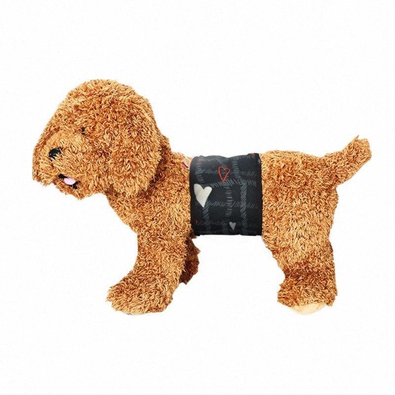 Новый кобель ткани Wrap живота Группа Мочевой Wrap Пеленки Уход подгузник многоразовый Физиологические штаны G4vy #