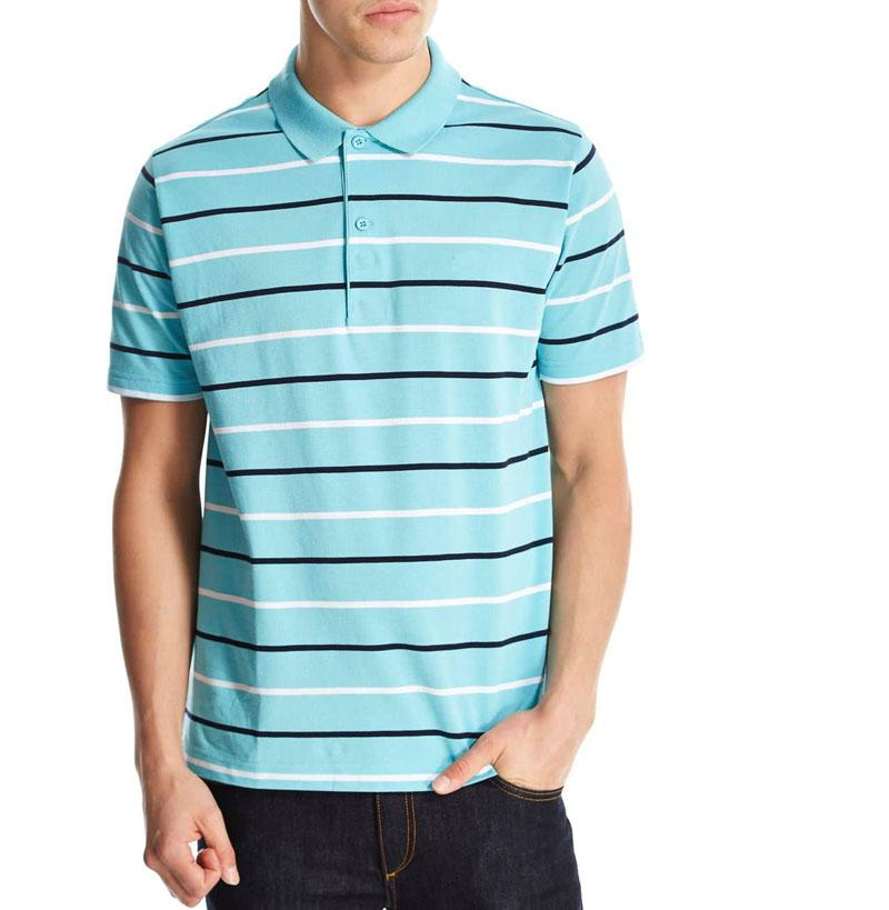 New Stripe Polo Homens crocodilo Casual manga curta Verão Camisas Polo uomini krokodil camiseta cocodrilo Mens