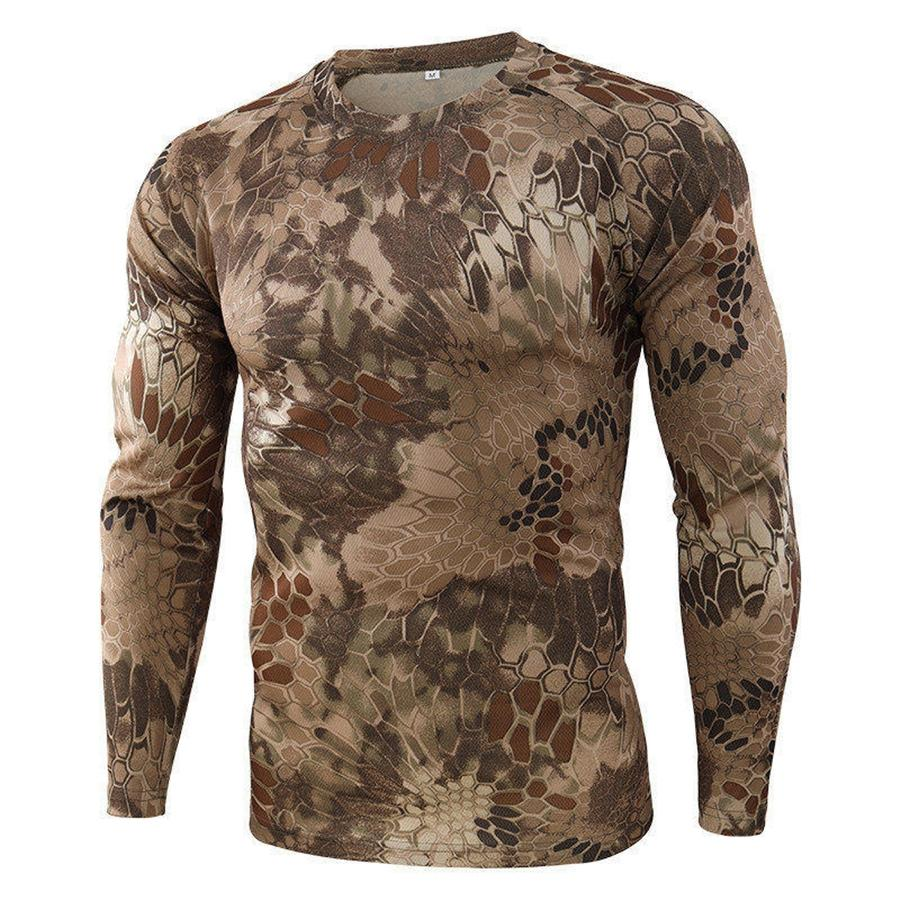 Тонкий Конструктор Tshirts Длинные рукава Мода Стиль Casual Summer Casual Mens # 188