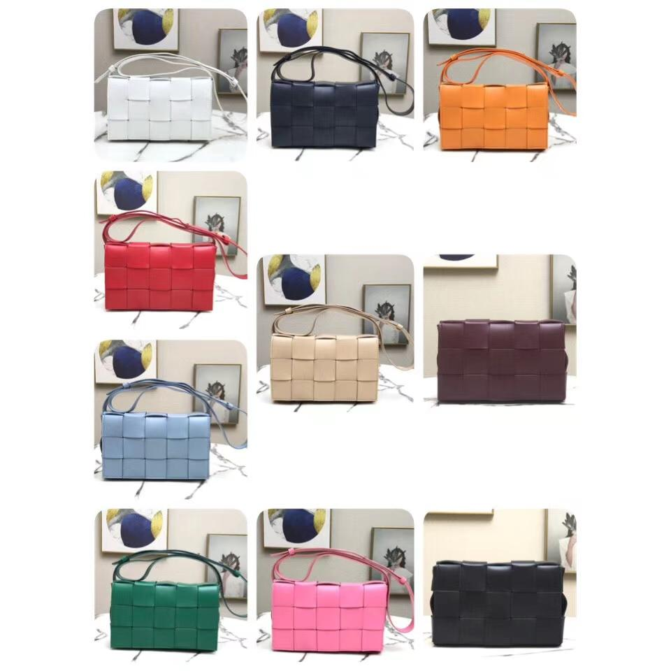 New arrival excellent quality wholesale luxury Italy original cowhide real leather max crochet handbag fashion shoulder bags 10color free