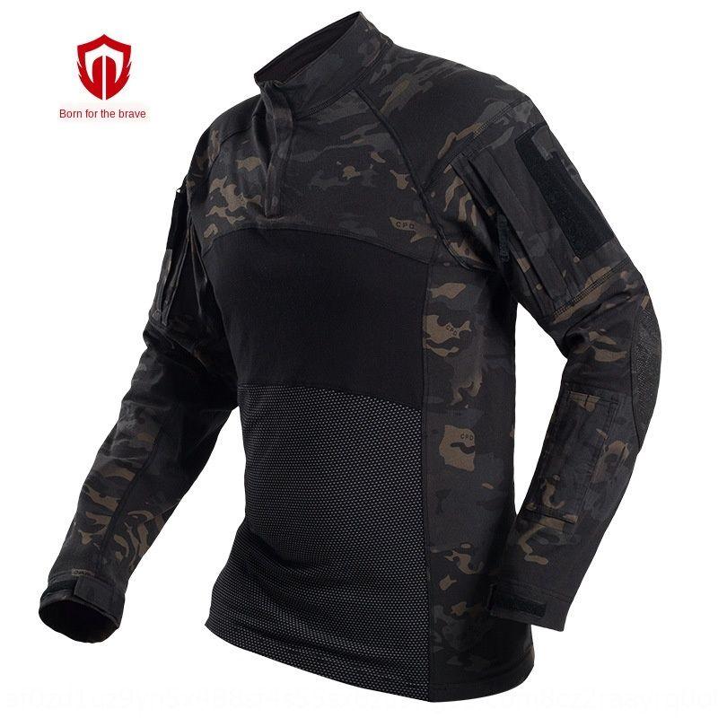 resistente al desgaste nuevo algodón ropa rana traje de combate ventiladores de manga larga de las fuerzas especiales del ejército de ranas tácticas traje