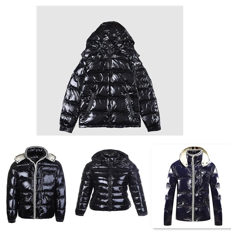 The wholesale Coat Down Winter Jacket Hooded Down Jacket Thick For Lady men Windbreaker Outerwear Jacket Hoodie man and women jackets