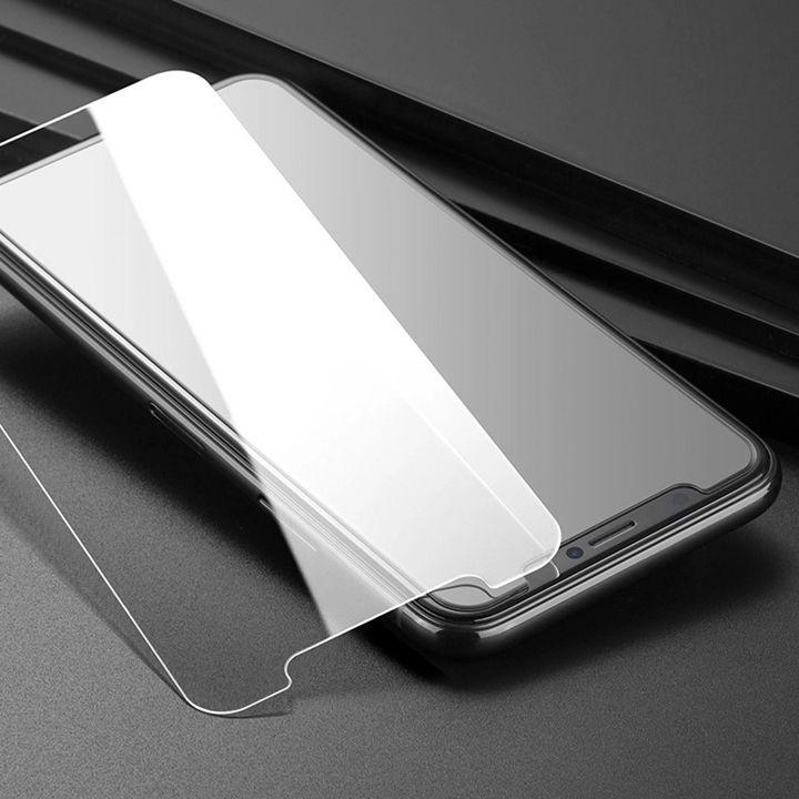 Protection d'écran pour iPhone 12 11 Pro Max XS Max Glass XR pour iPhone Trempé 7 8 Plus LG 5 Moto E6 Protector 0.33mm NO boîte d'emballage