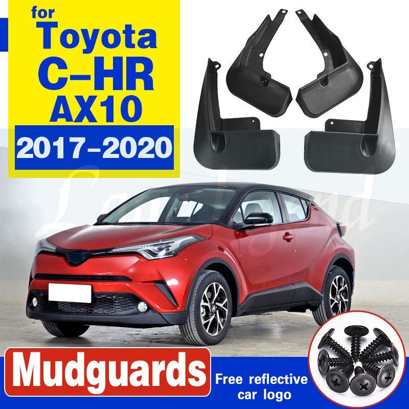 für Toyota CHR 2017-2020 2019 CHR C HR AX10 vorn hinten Schmutzfänger Kotflügel Kotflügel Schmutzfänger Guard Spritz Flap Autozubehör
