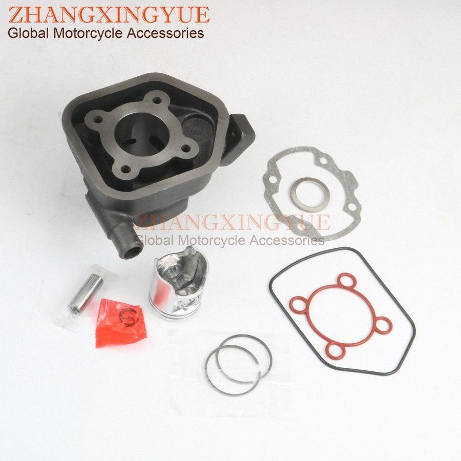 50cc Zylindersatz Piston Kit Zylinderkopfdichtung für 2 50cc LC Speedfight 40mm / 12mm 2-Takt 100.080.201 753.038 Z9xM #
