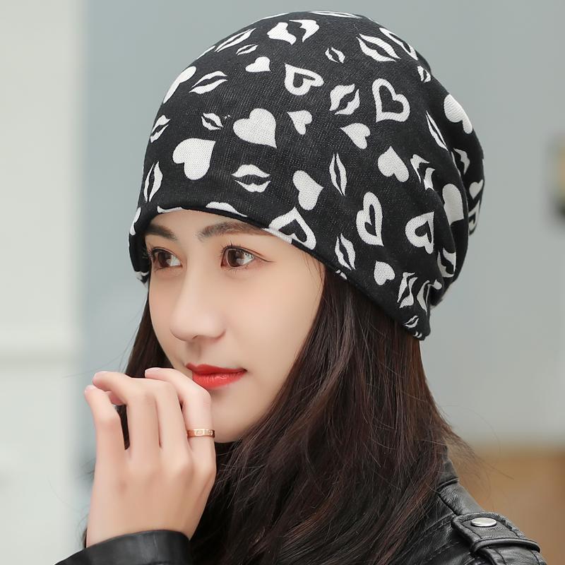 Nuevos 4 Use gorro de punto bufanda sombreros de invierno para niñas Las mujeres Carta Gorros Mujeres Skullies Gorros Gorros