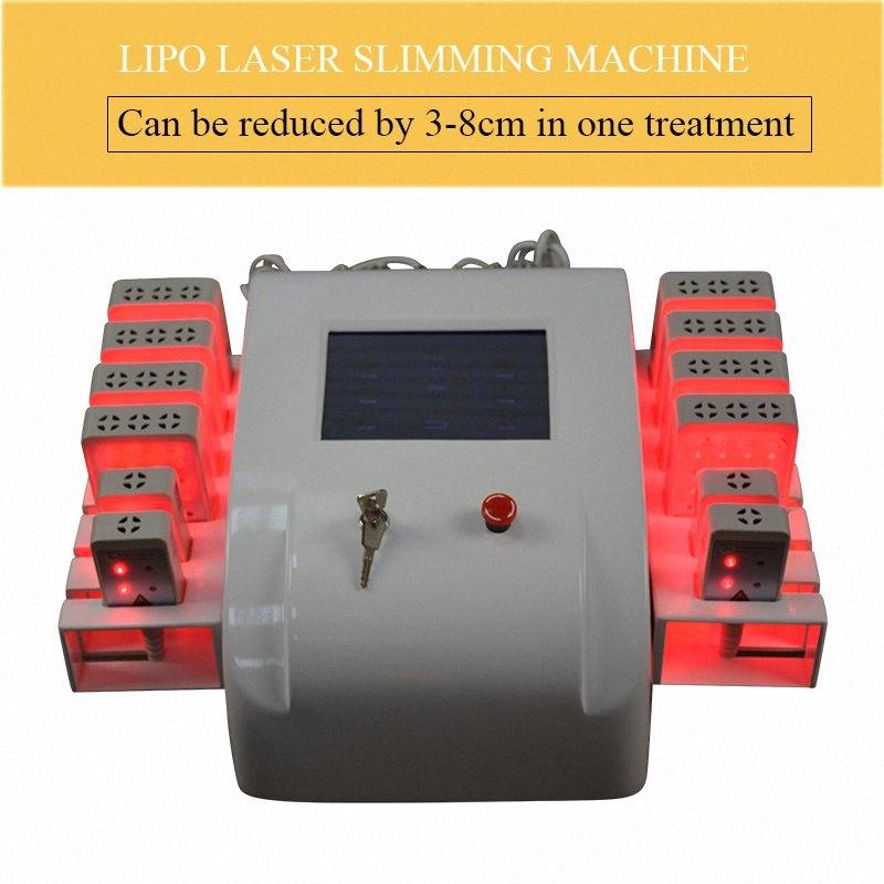 Diodo laser Lipo LipoLaser dimagrisce apparecchiatura rapida perdita di grasso brucia Remover Body Shaping Peso Laser Machine cavitazione dimagrante Radi mQZW #