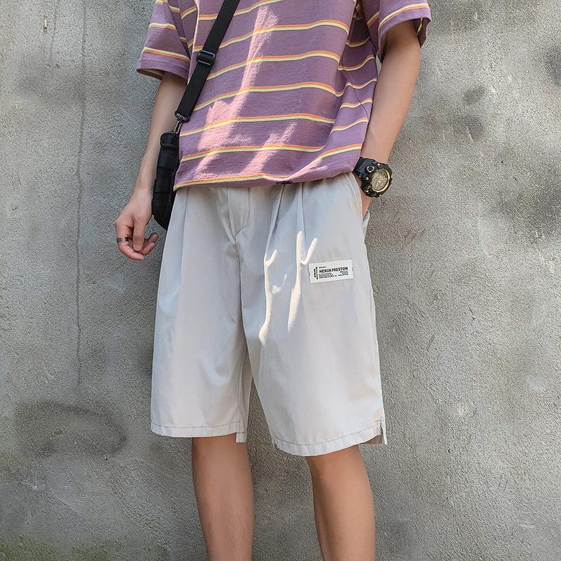 Shorts diritte dei pantaloni casual da cinque centesimi pantaloni di grandi dimensioni allentato Moda Sport Serie Solid Color In Estate