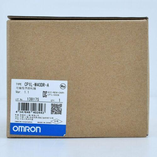 1PC Brand new Omron CP1L-M40DR-A PLC module 1year warranty DHL free Ship