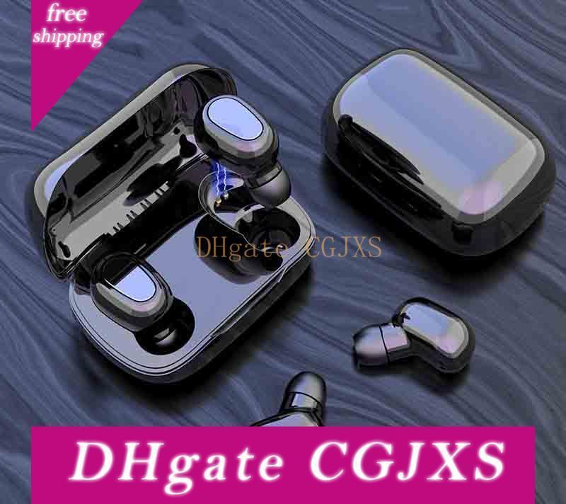 Tws drahtlose Bluetooth-Kopfhörer Touch Control Stereo V5 0,0 Earbuds Kopfhörer tragbare Mini-wasserdichte Sport-Headset 3 Farben en gros -1