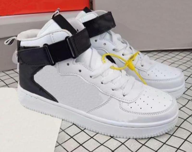 Hot vender moda masculina sapatos casuais primavera e outono Couro High Top Homens antiderrapante Walking Shoe Tenis sapatos de caminhada Calçado 36-44