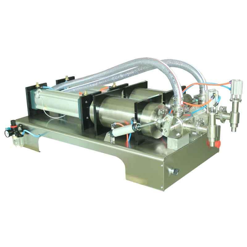 máquina de llenado de solución de pasteurización de embotellado de relleno líquido máquina de llenado cabeza SHENLIN 5000ml Doble 1% SS304 precisa