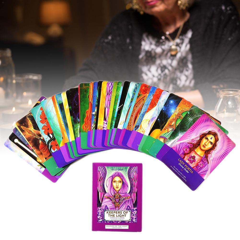 Gioco Palying spettacolo Party Of Keepers Oracle per la piattaforma 44 carte degli strati bordo carta carte dei tarocchi Giochi Pc Light The wzrQt