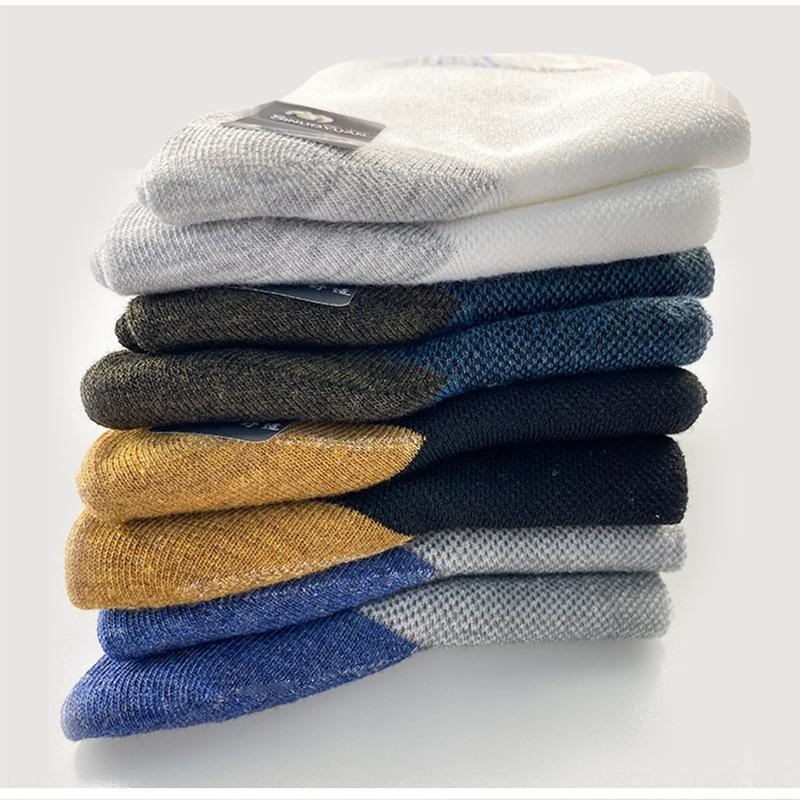 3MEGF primavera-verão esportes lazer dos homens de algodão e malha de algodão respirável meias finas desodorante suor homens meias