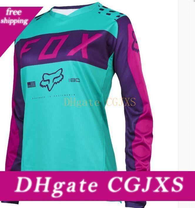 Fox Hot Tld Downhill Bike Racing Motorrad-Reiten Wear Langarm T -Shirt Gewohnheit