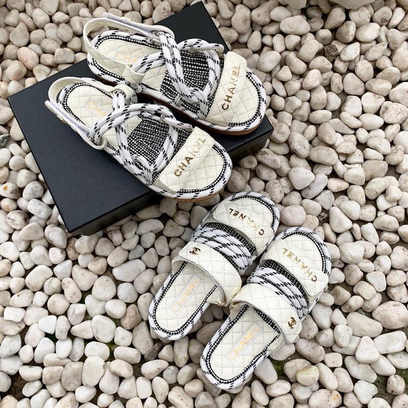 atado a la Cruz diseñador de las mujeres sandalias de Roma 2020 zapatos de las mujeres de alta calidad de verano zapatillas de cáñamo cuerda plana ata para arriba el dedo del pie abierto zapatillas sandalias c07