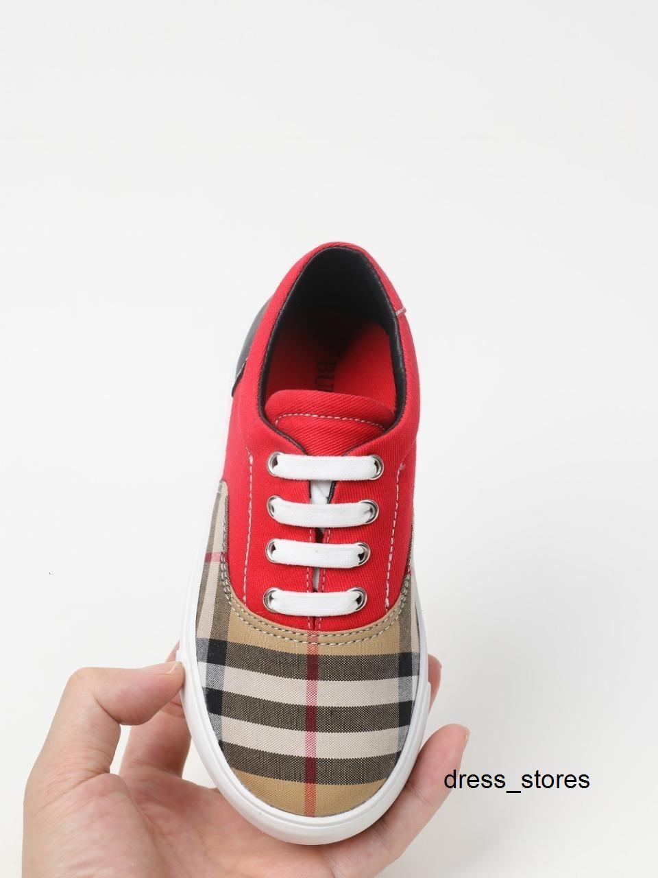 zapato casual niña Niño de los niños Moda redondas de calidad superior del dedo del pie de los niños