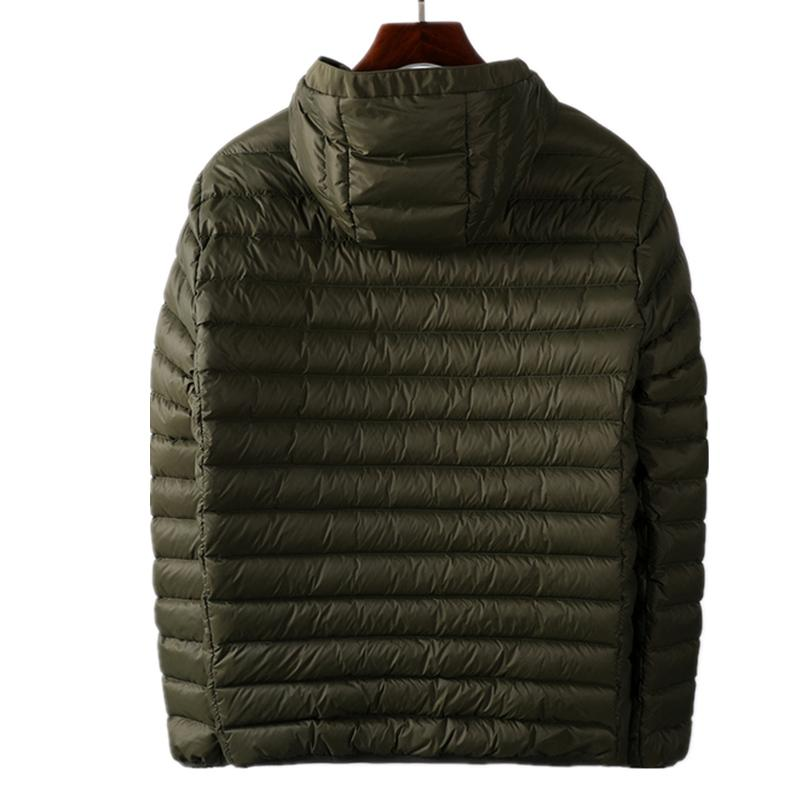 Topstoney 2020 Konng Gonng Autunno e inverno Nuova giacca di tendenza Brand Brand Brand Down Piumino Giacca leggero Bianco Duck Down