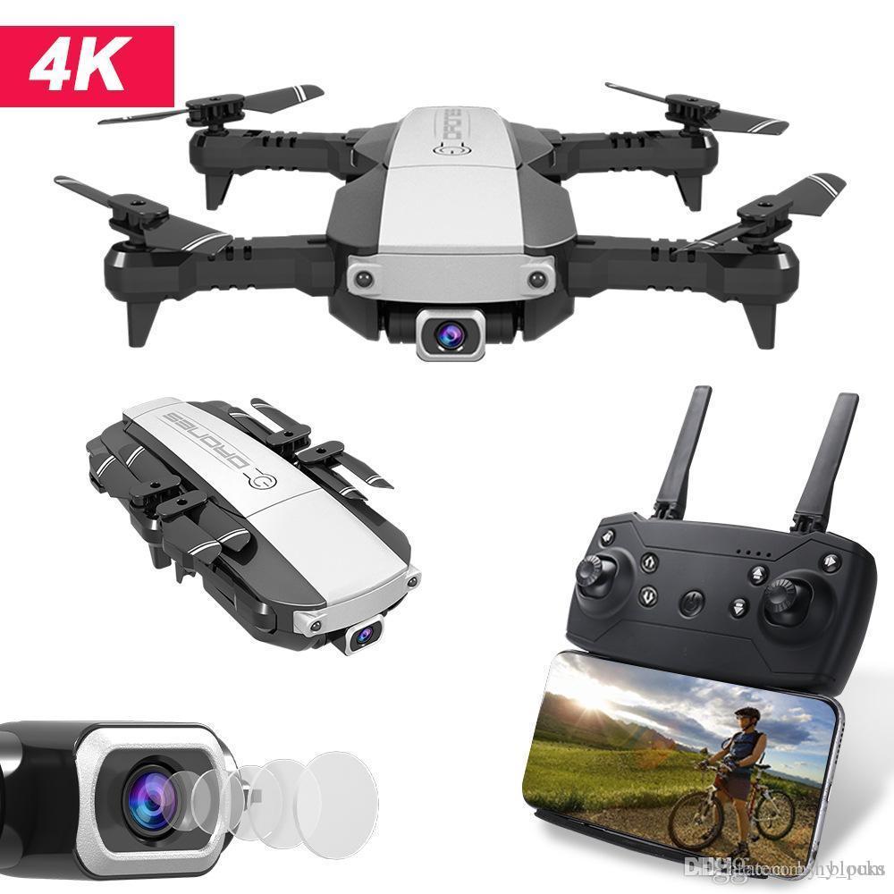 RC Drone 4K 1080P Quadcopter 2,4 WiFi FPV HD камера Складные Мини-БЛА Пульт дистанционного управления Вертолет Дети Игрушки Подарки