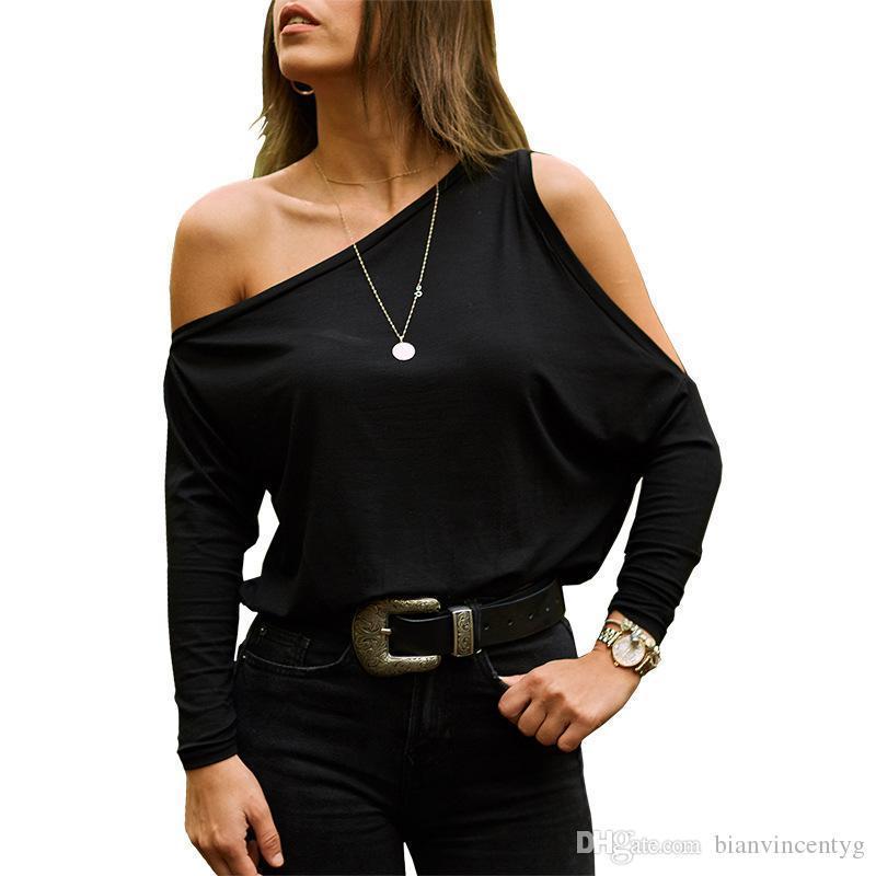 Женщины плеча черный печати Холтер блузка рубашка слэш шеи лето с коротким рукавом выдалбливают Top Элегантный офис глаз Lady Блузы Tops