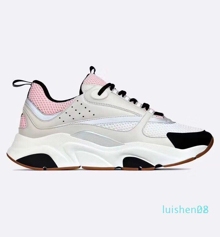 B22 sapatilha Homens Designer calçados casuais Mulheres Retro Sneaker Low Lace-Up Platform B22 Sneaker Luxo Multicolor L28 Shoe Casual