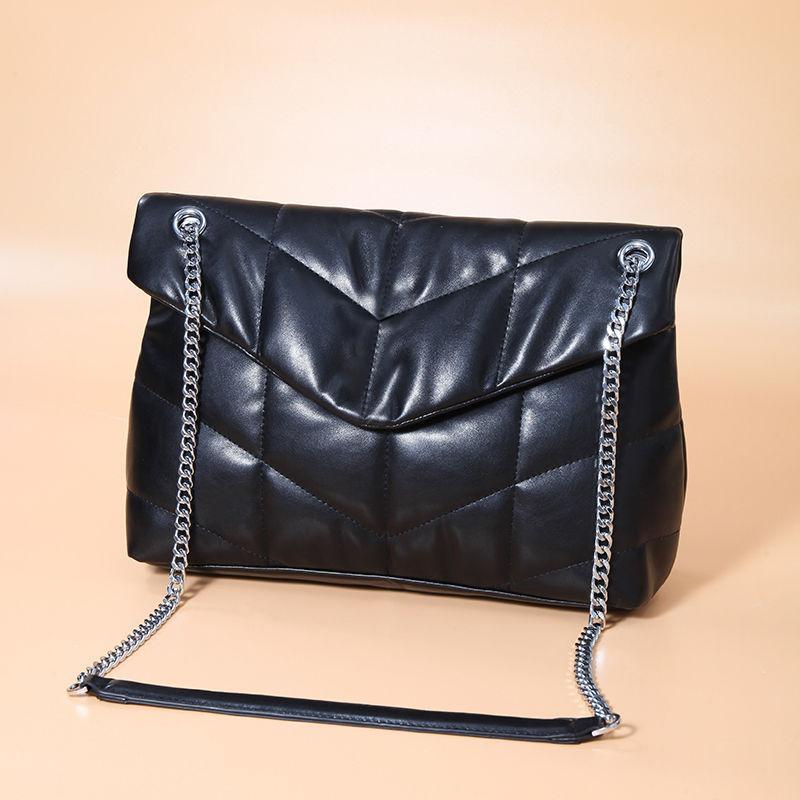 أفضل مصمم حقائب اليد الفاخرة محفظة المرأة حقيبة الكتف جلدية حقيقية مع التطريز حقيبة يد Crossbodybag السرج عالية الجودة