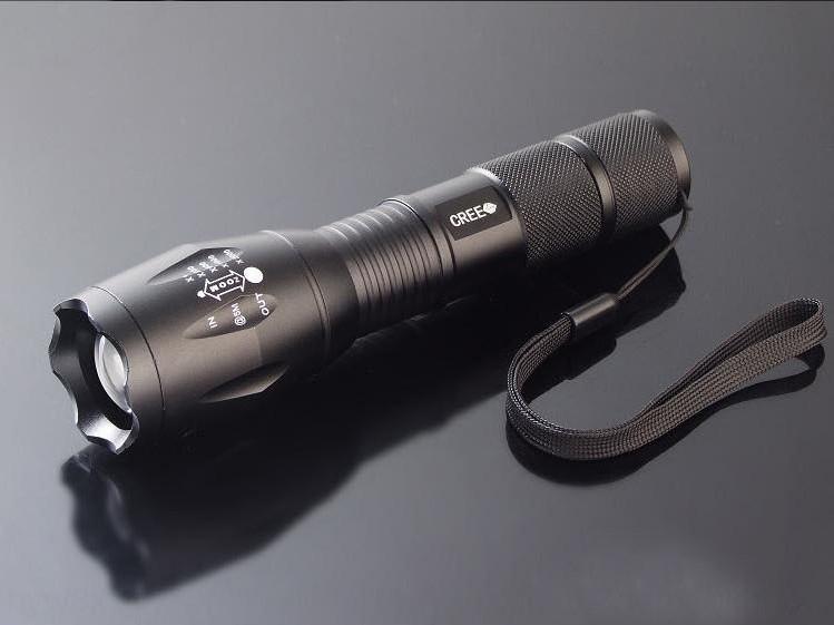 alluminio XMLT6 LED in lega di alluminio dello zoom ricaricabile torcia a LED XMLT6 lega ricaricabile zoom torcia m4BAz