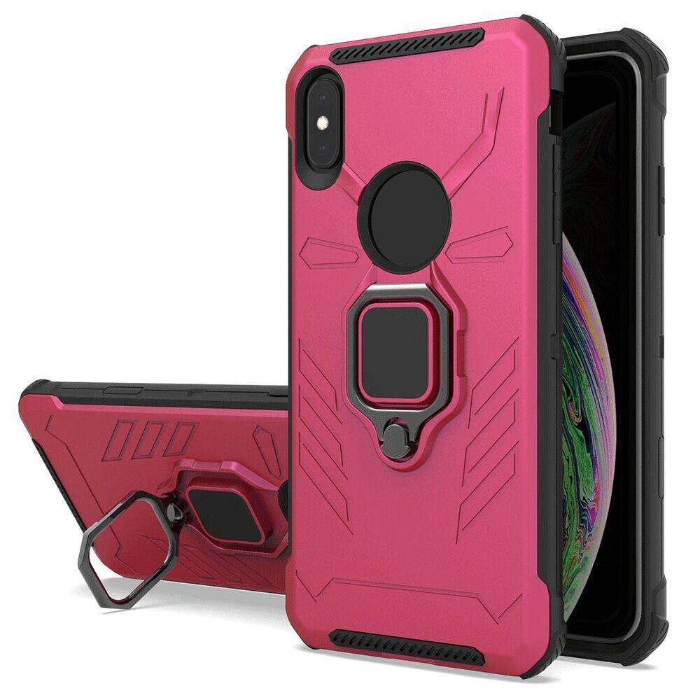 Car Mount Holder Magnetic Ring Kickstand Case for Samsung Galaxy A51 A71 5G A11 Note 20 Ultra A21 A10e A20 A50 Shockproof Cover