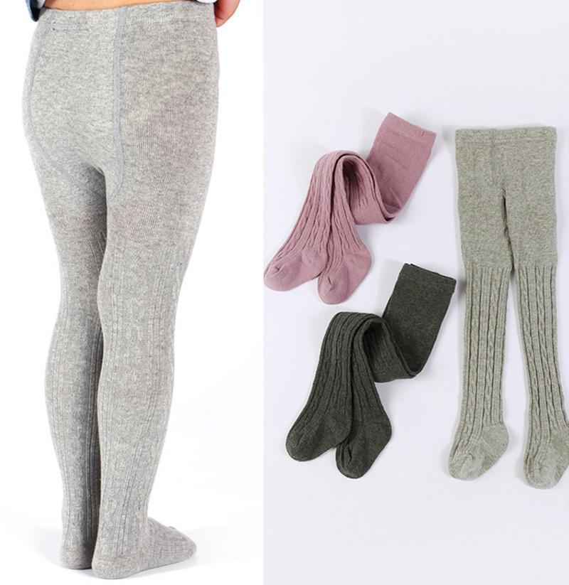 Baby Kids Skinny Leggings Girl Winter Wam Stretchy Pants Trousers Children Leggings For Girl Kids Clothes 2 To 8 Years MX200811