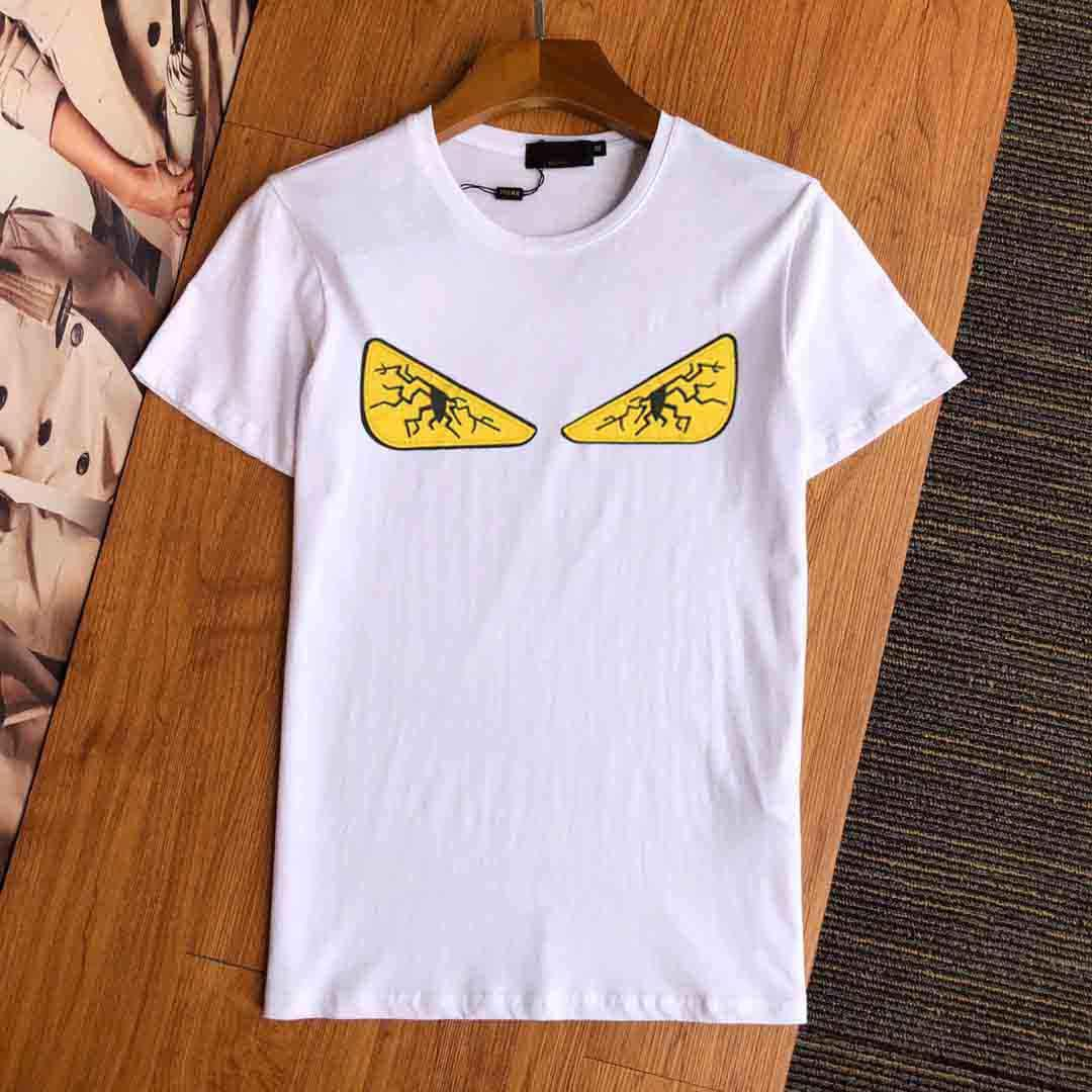 New Fashion Hip Hop Cobra Imprimir T-shirt 2020 dos homens de Medusa T-shirt Summer manga curta Casual Top Luxo Menswear Designer Marca M-5XL