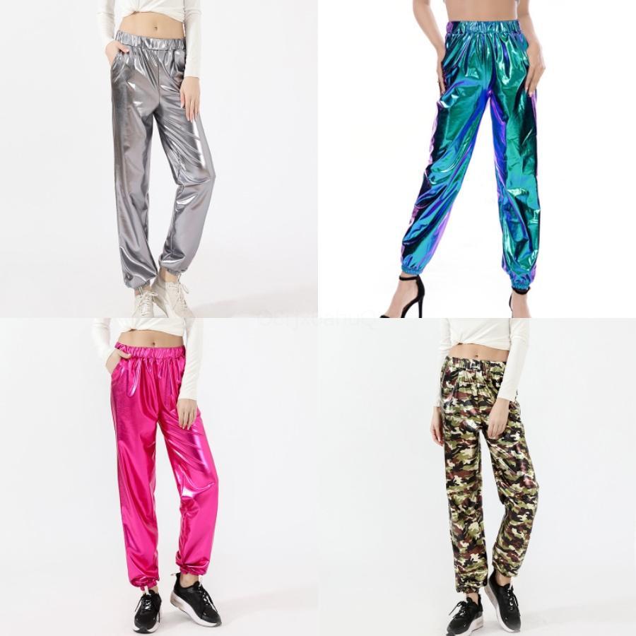 Mode Femmes solides Pantalons longs taille haute Bow Tie Crayon Pantalons Skinny Leggings Slim Pantalons simple dames taille haute # 862