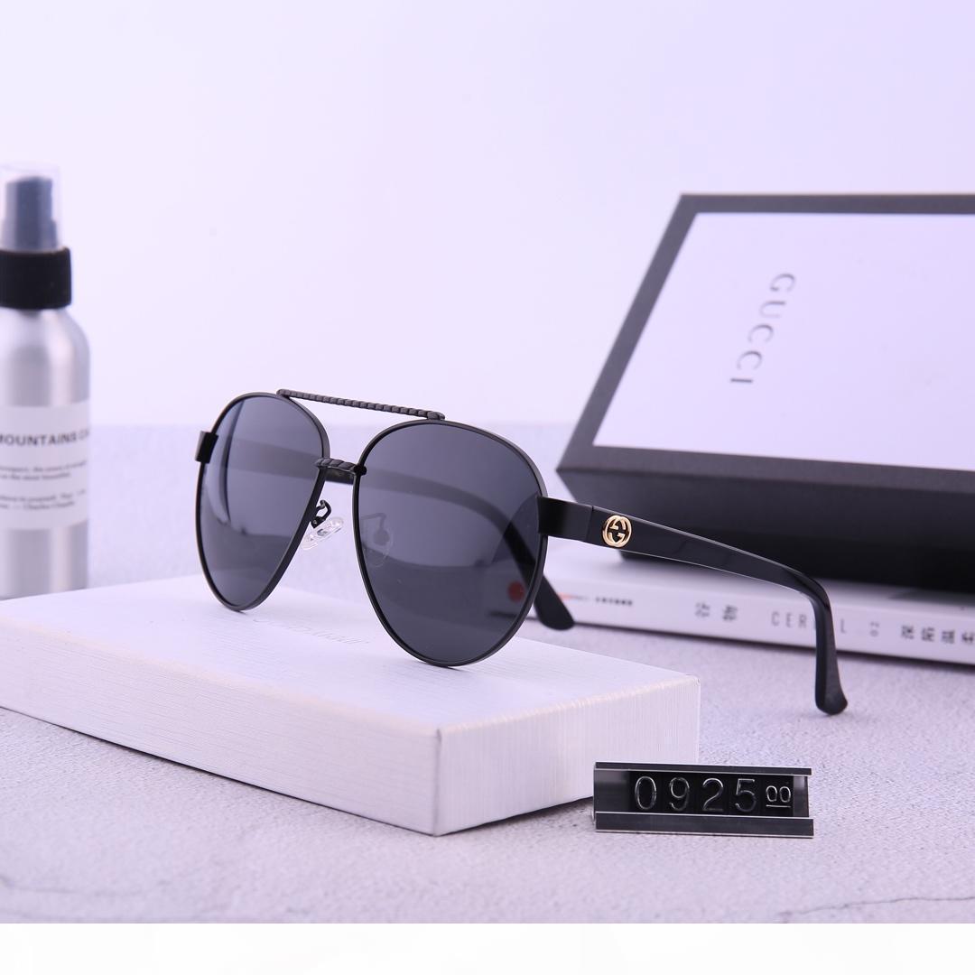 Alta Qualidade extragrande Mulheres Sunglasses Driving Homens UV400 Vintage homens Luxury Designer Marca 1Lgg 1L com caixa