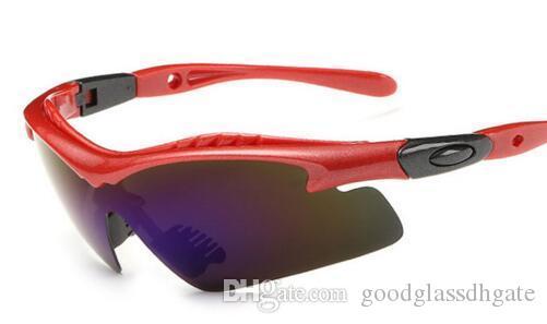 Navidad de los hombres de las mujeres de moda las gafas de sol de conducción 100% UV400 Protección deportes al aire libre Deporte Gafas de sol de alta calidad de Pesca Gafas Gafas