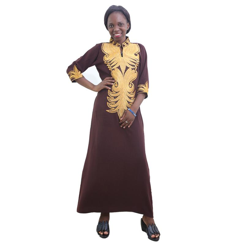 2020 Md African Dresses For Women Bazin Riche Africa Dress Plus Size Traditional African Long Dress African Print Women Clothing 2020 Cx200813 From Dang01 12 45 Dhgate Com