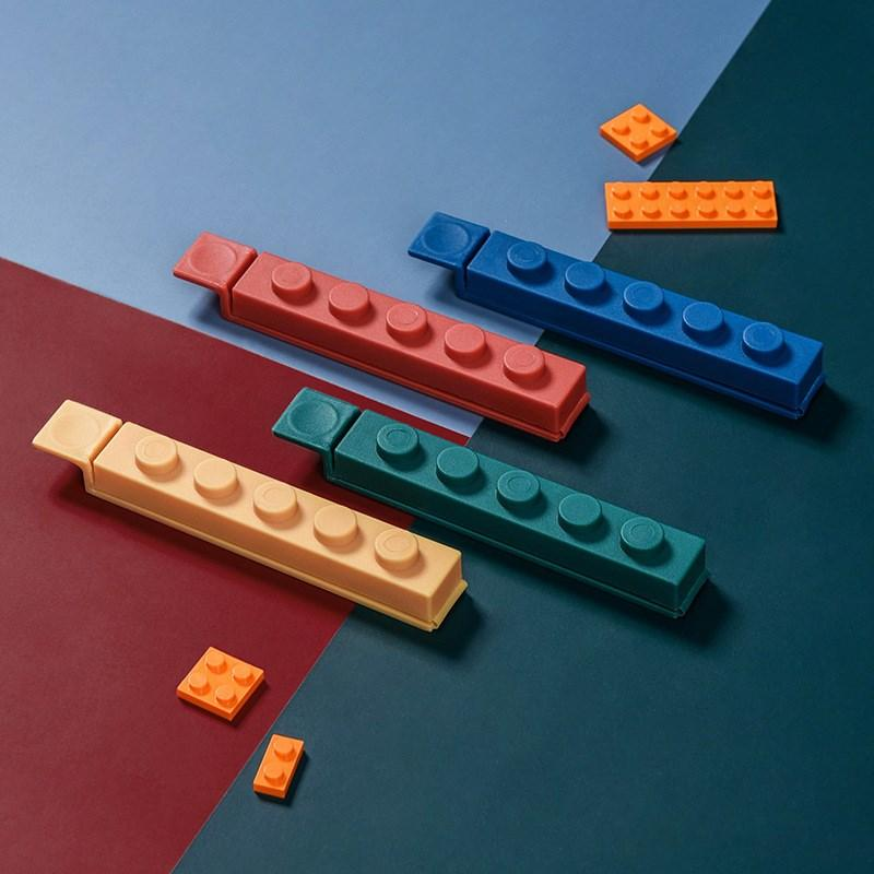 4 clipes Pcs Food Bag Sealing clipes Multi-cores Bag Fresh-Mantendo braçadeira Bag Sealer Para Kitchen escritório H-0051