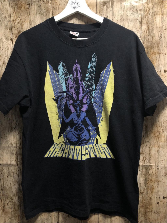Nachtmystium-T-Shirt Größe L mayhemburzum versklavte Dimmu Borgir Marduk Satyricon xasthur Ertrinken das Licht Leviathan Dämmerung