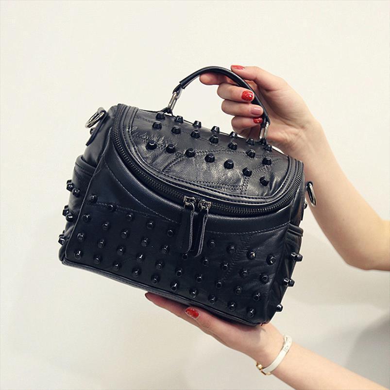 Mulheres couro genuíno Saco 2020 New carneiro Messenger Bags Bolsas Marcas Designer Feminino Handbag Bolsa de Ombro