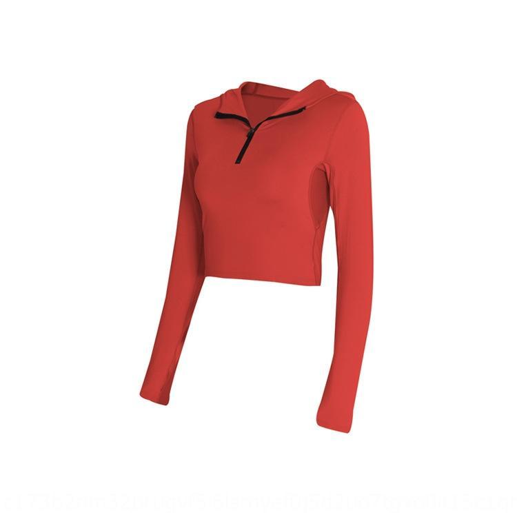 Nueva pantalones apretados de yoga clothingYoga prendas de vestir traje de tres piezas mujer de manga larga con capucha polainas ropa de deporte profesional 56wZY